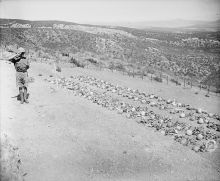Chunuk Bair, the easternmost point reached by the New Zealanders on the 8th August 1915.